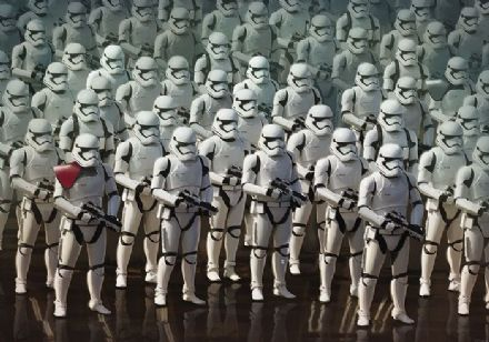 Star Wars Storm Troopers wall mural